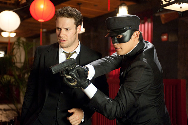 the new year starts with a superhero film yet the green hornet doesnt seem like a superhero film at all im not saying this because its a comedy