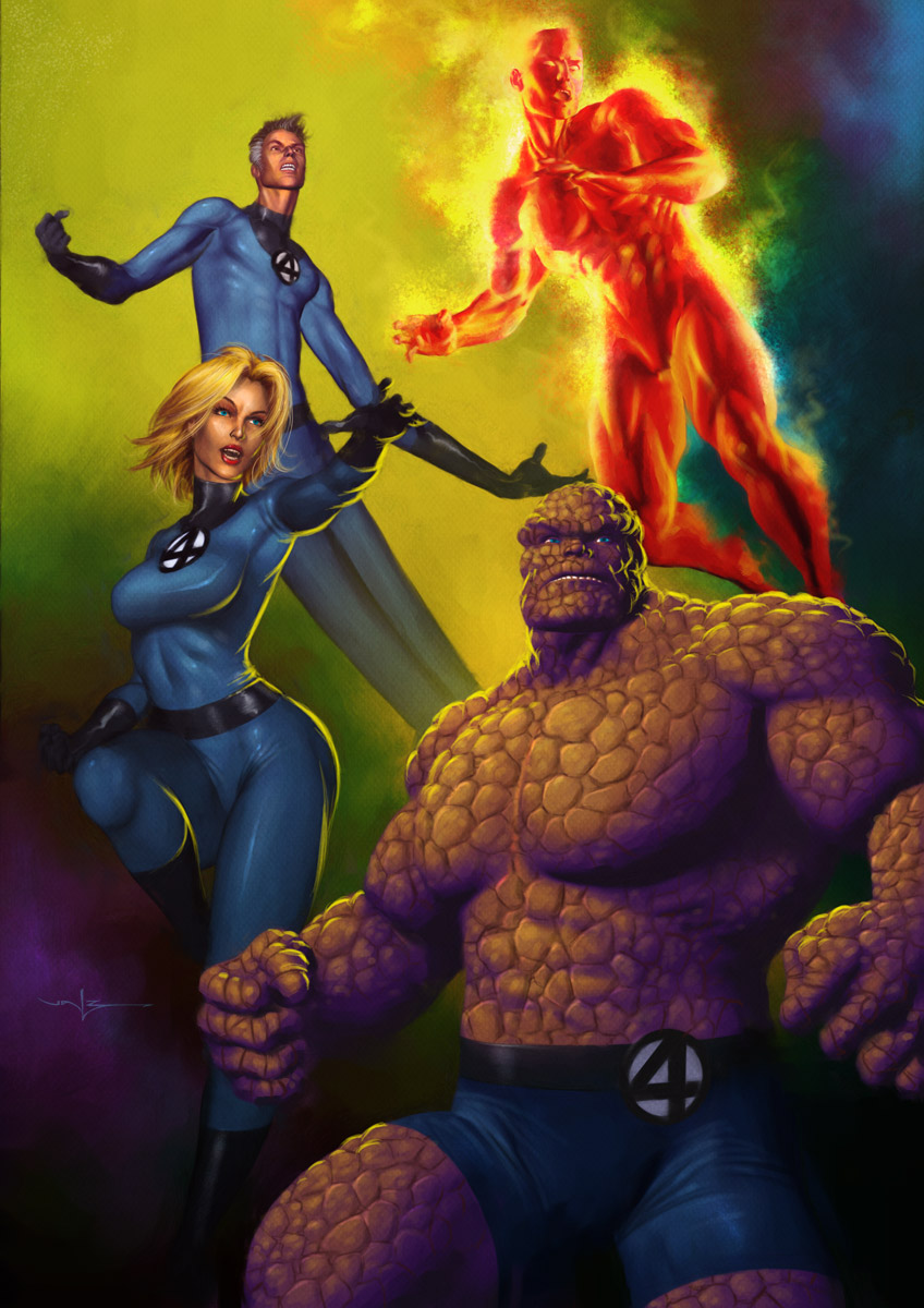 Fantastic_Four_by_Valzonline