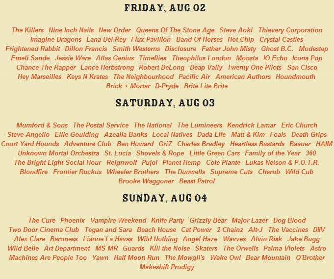 lolla 2013 lineup day