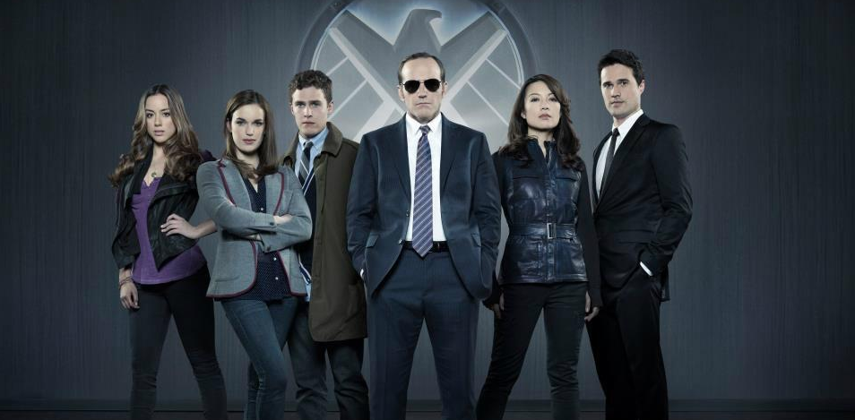 Agents of Shield cast photo