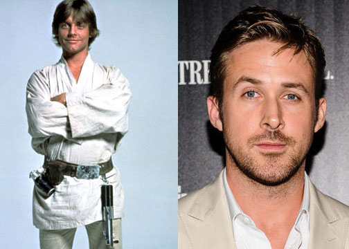 He's not dorky enough to play Mark Hamill's son anyway.