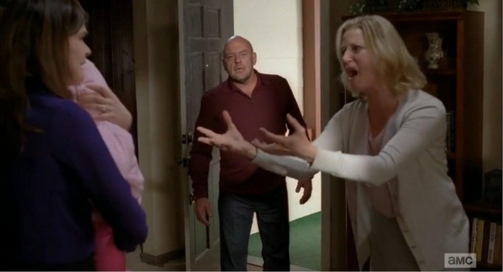 Things turn chaotic for Walt's family.