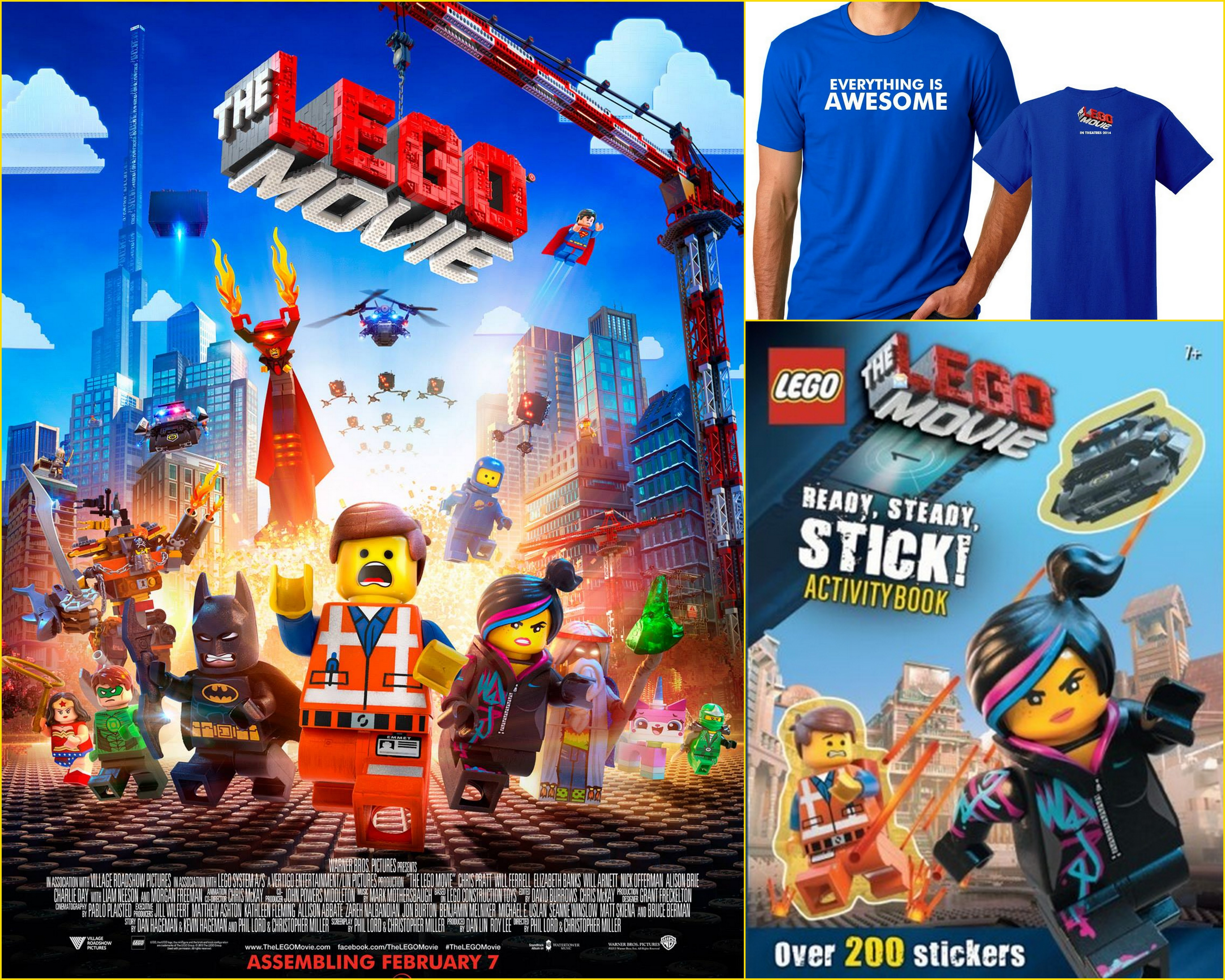 the lego movie prize pack sweepstakes the young folks. Black Bedroom Furniture Sets. Home Design Ideas