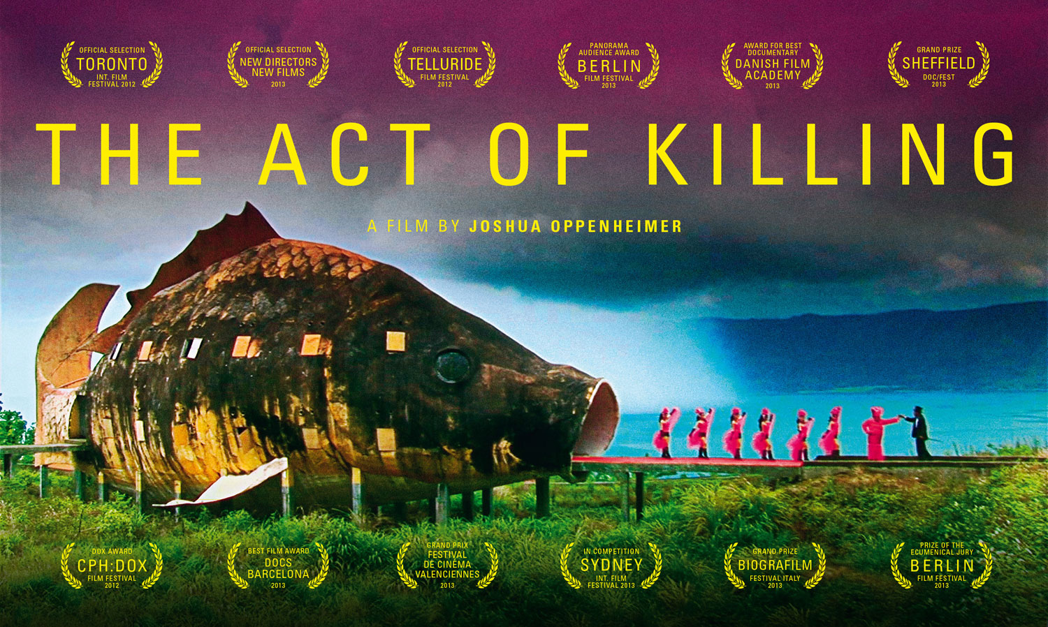 a review of the documentary the act of killing The act of killing is one of the best documentaries of the year, and i don't ever want to see it again watching this film is both ideologically riveting and morally repulsive from very early on, i wanted to walk out of the theater, but i couldn't it's a challenging, unforgettable journey.