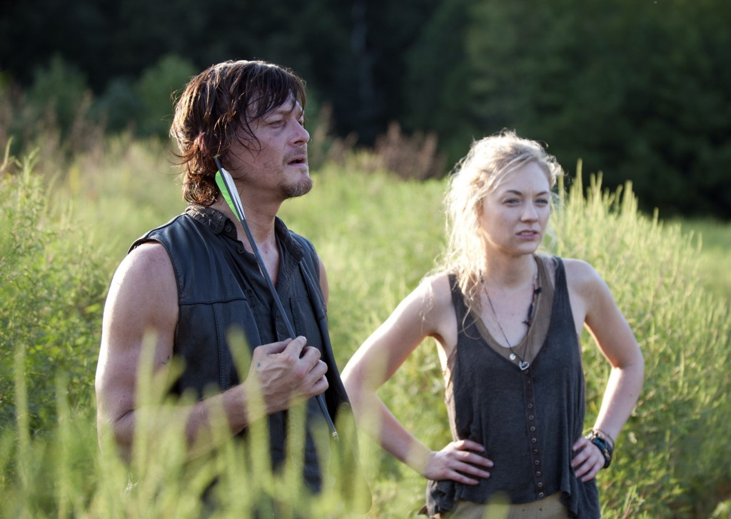 daryl and beth the walking dead