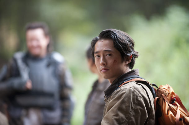glenn on walking dead