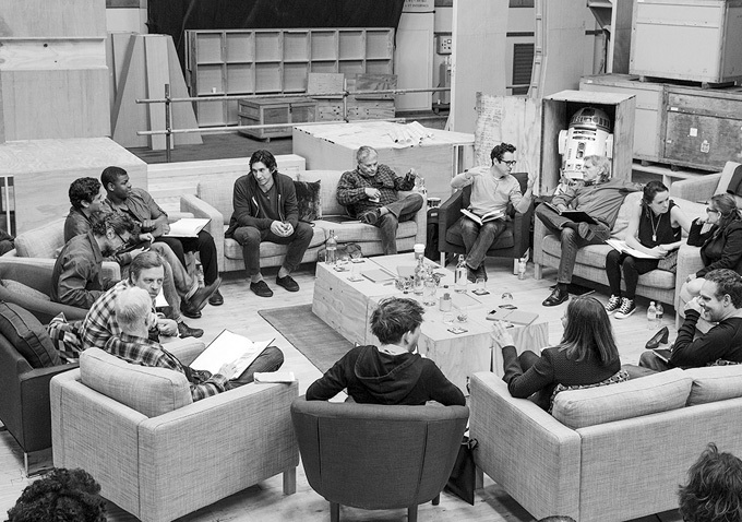 Star Wars: Episode VII cast