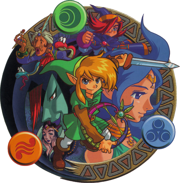 Oracle_of_Ages_Characters