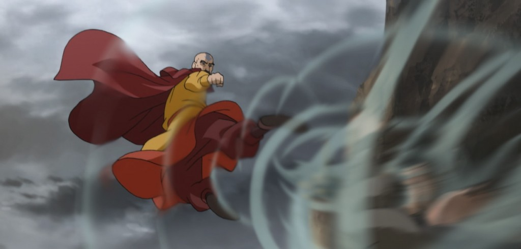 tenzin air kick fight