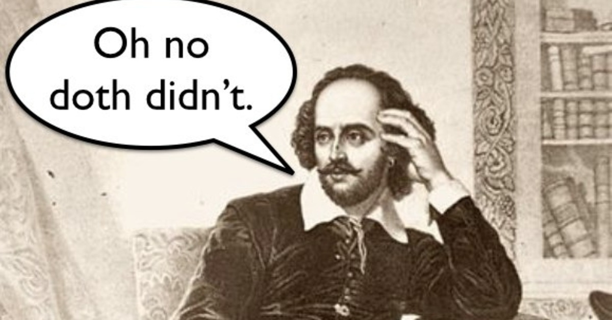 Shakespearean insults contests and giveaways