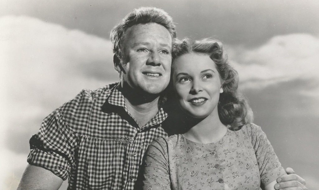 2b_-Publicity-still-of-Van-Johnson-and-Janet-Leigh-in-her-first-filmThe-Romance-of-Rosy-Ridge-1947