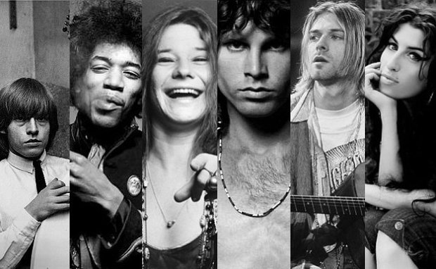 27 CLUB Musicians: Mysterious Facts Behind ... - Astrochicks