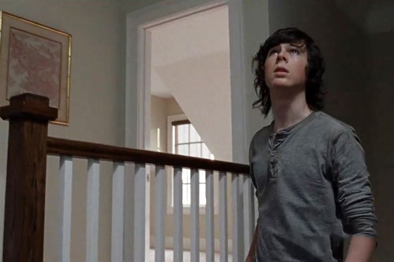 walking dead 512 carl