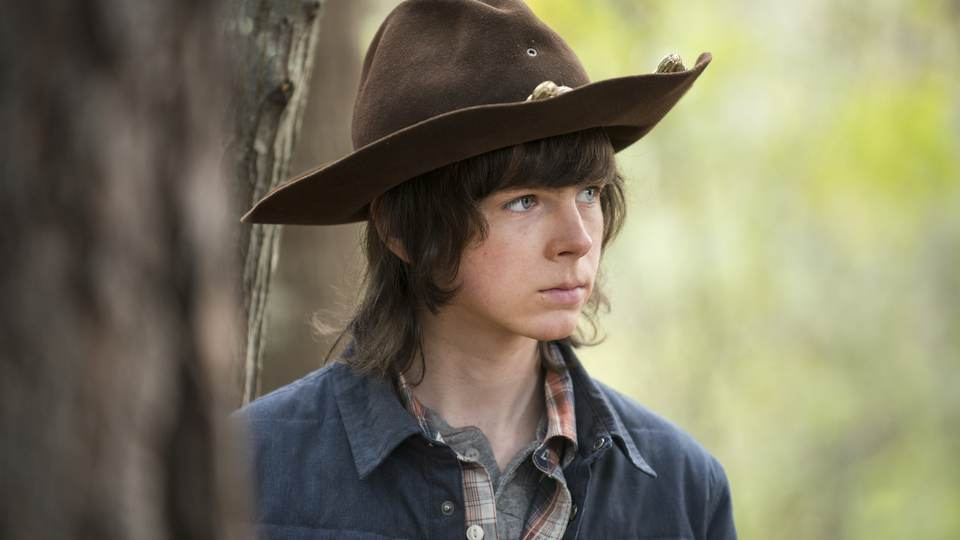 walking dead 515 carl