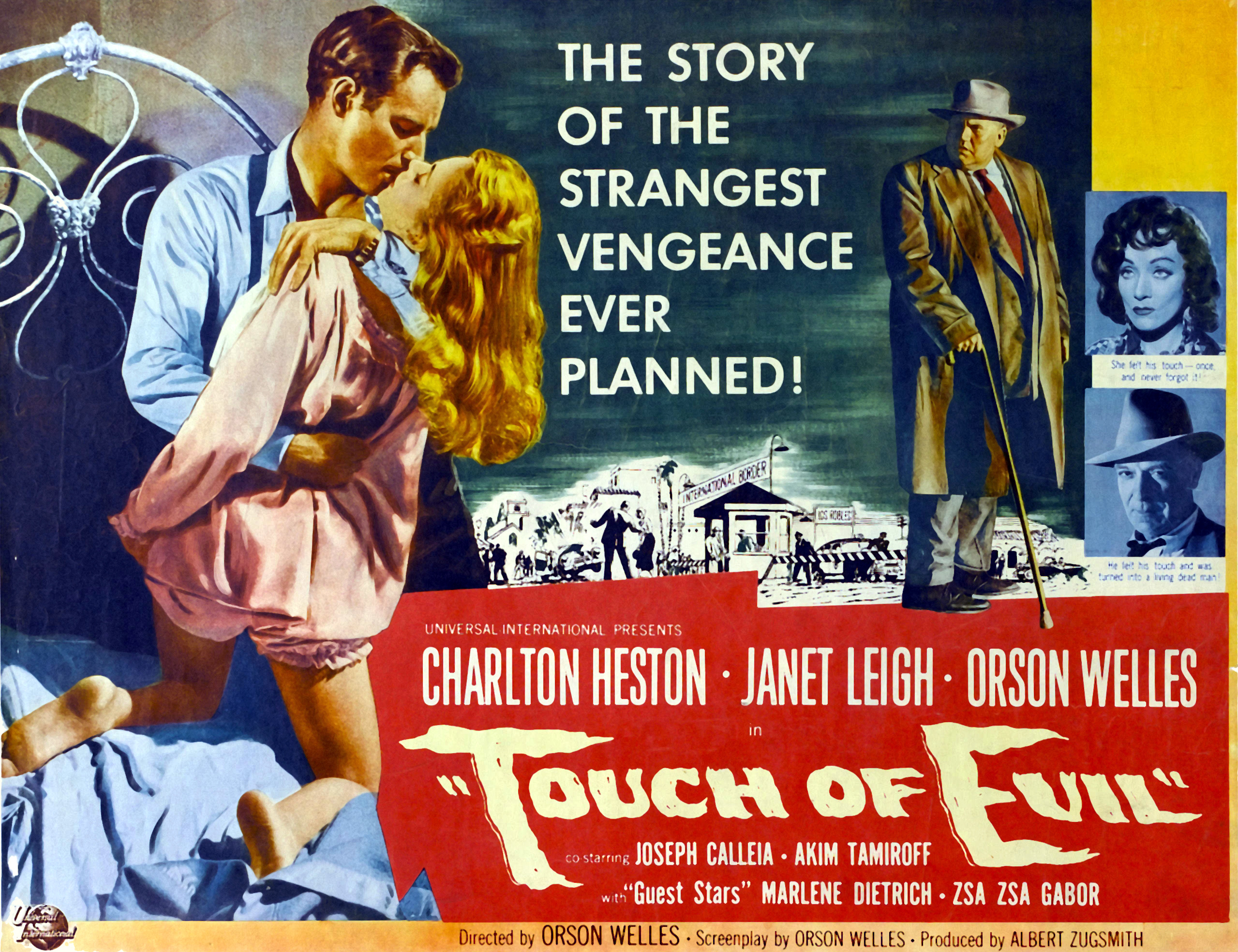 Out Of The Past Touch Of Evil 1958 The Young Folks