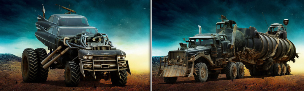 Gigahorse (left) and War Rig (right)
