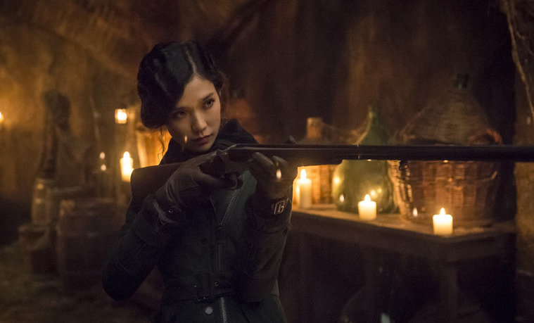 """HANNIBAL -- """"Secondo"""" Episode 303 -- Pictured: Tao Okamoto as Chiyoh -- (Photo by: Brooke Palmer/NBC)"""