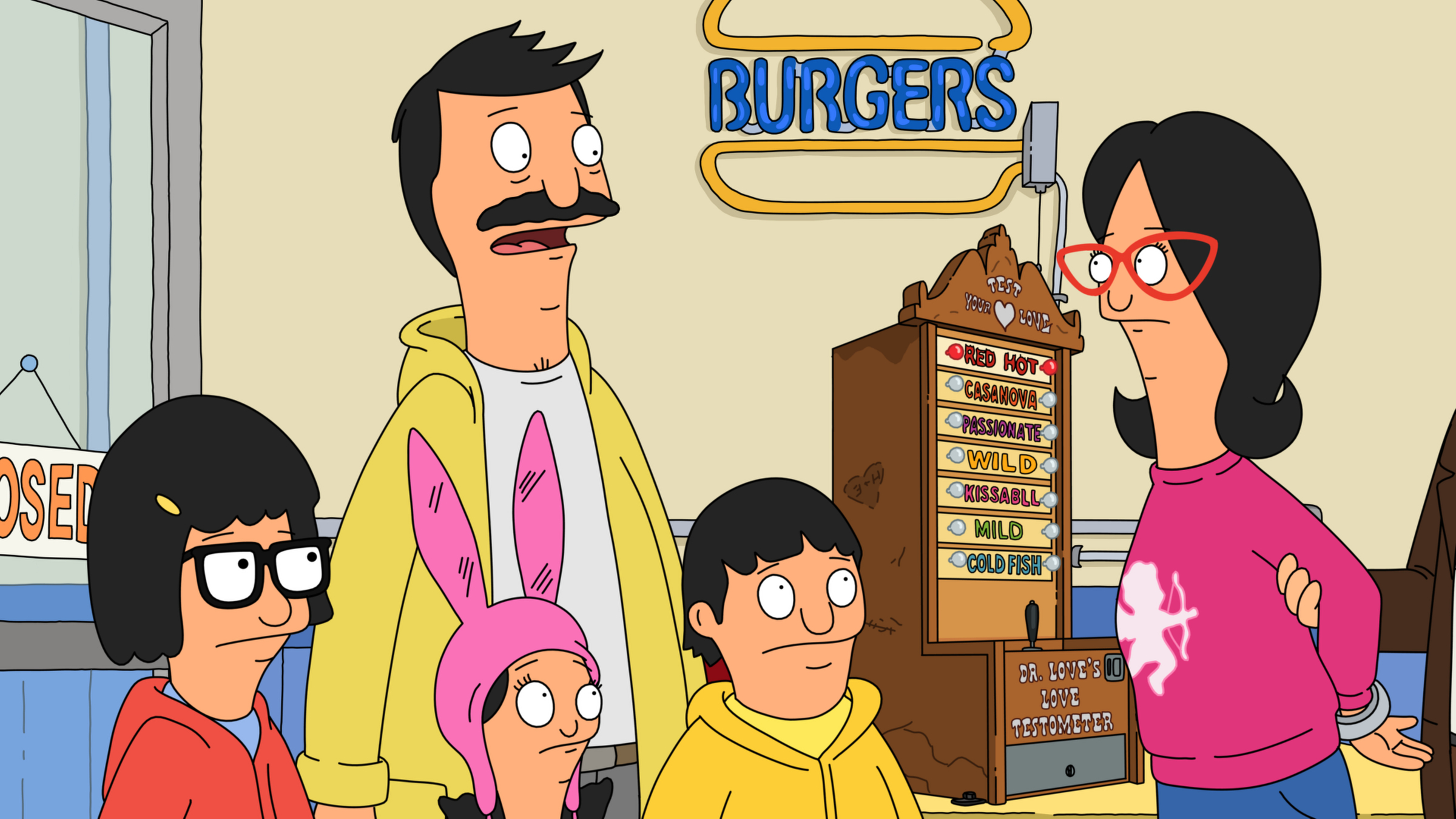 speed dating bobs burgers