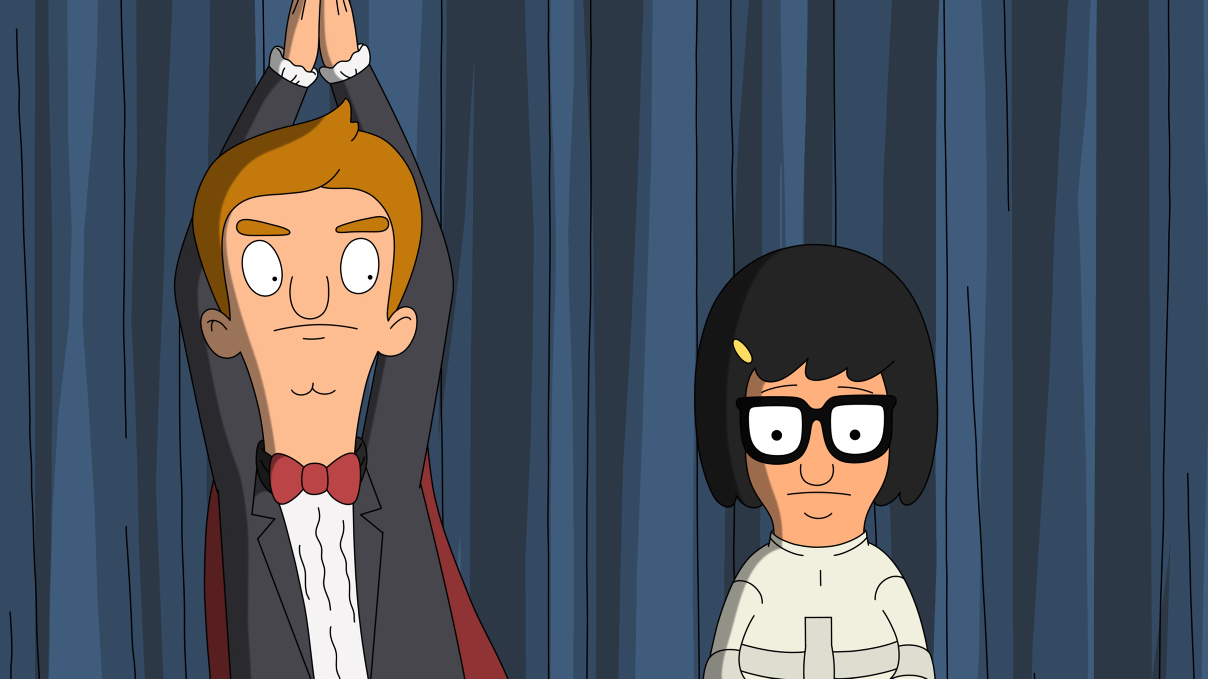 """BOB'S BURGERS: Tina enters a young magician's contest to win Jimmy's love in the all-new """"Presto-Tina-o"""" episode of BOB'S BURGERS airing Sunday, Jan. 12 (8:30-9:00 PM ET/PT) on FOX. BOB'S BURGERS ™ and © 2014 TCFFC ALL RIGHTS RESERVED."""
