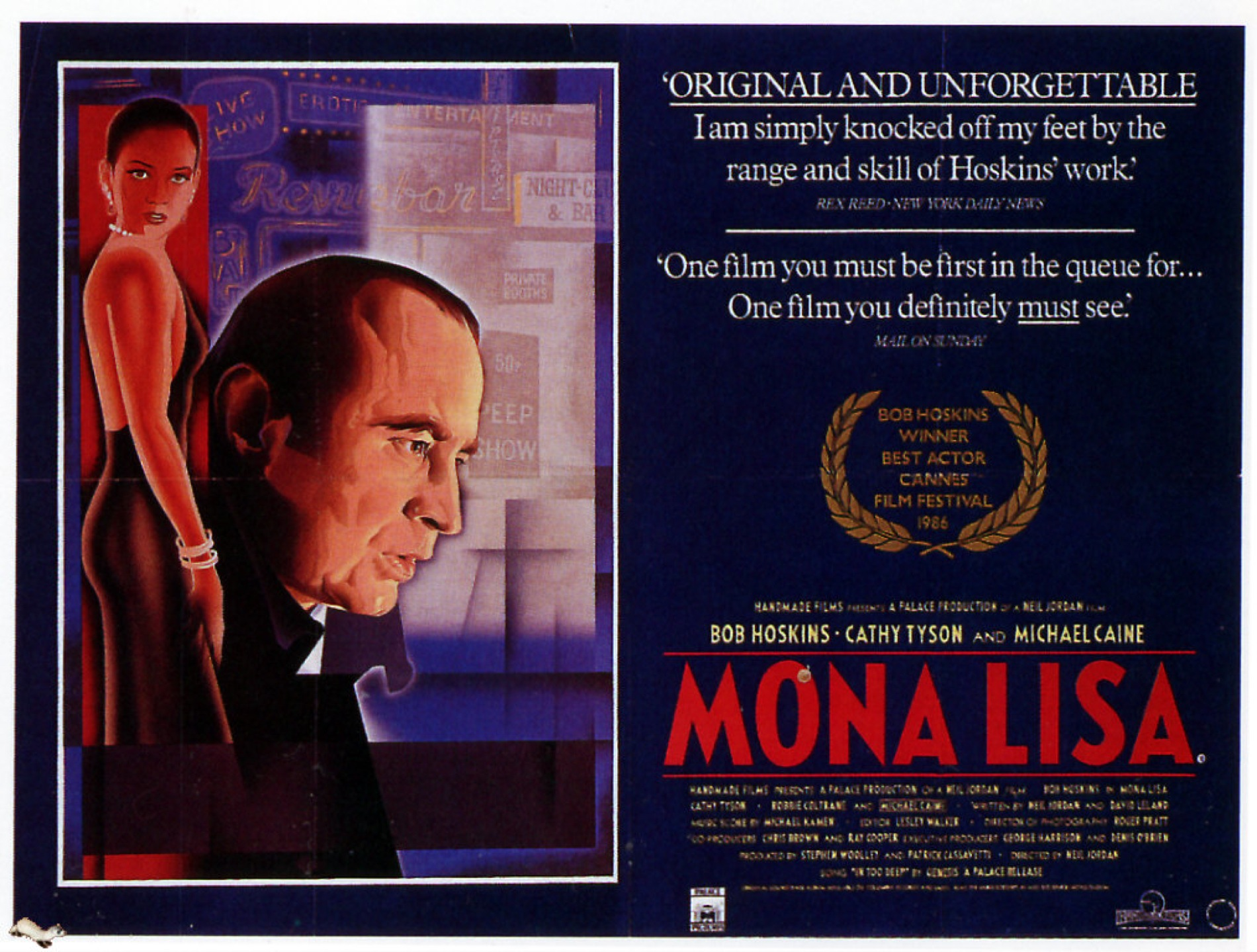 Mona Lisa' (1986): Out of the Past | The Young Folks