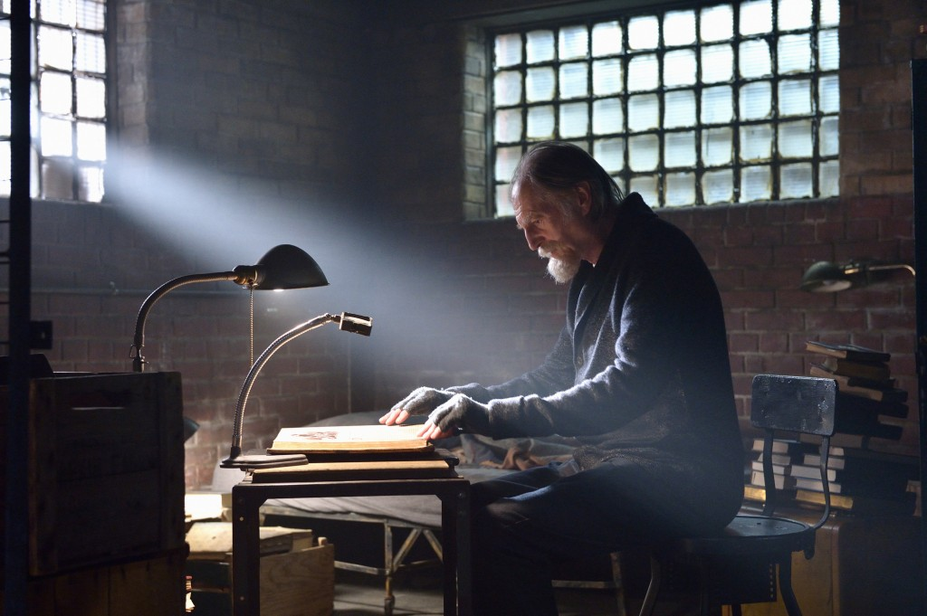 "THE STRAIN -- ""By Any Means"" -- Episode 202 (Airs July 19, 10:00 pm e/p) Pictured: David Bradley as Abraham Setrakian. CR: Michael Gibson/FX"