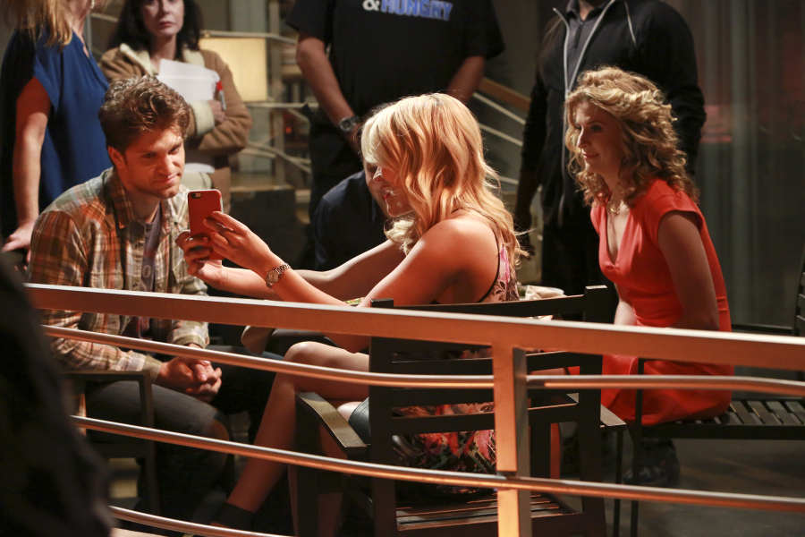 "YOUNG & HUNGRY - ""Young & Back to Normal"" - Gabi meets a new guy but is nervous about what Josh will think on a new episode of ABC Family's original comedy ""Young & Hungry,"" airing on Wednesday, August 26th at 8:30 p.m. ET/PT. (ABC Family/Ron Tom) KEEGAN ALLEN, EMILY OSMENT, ALEXIS CARRA"