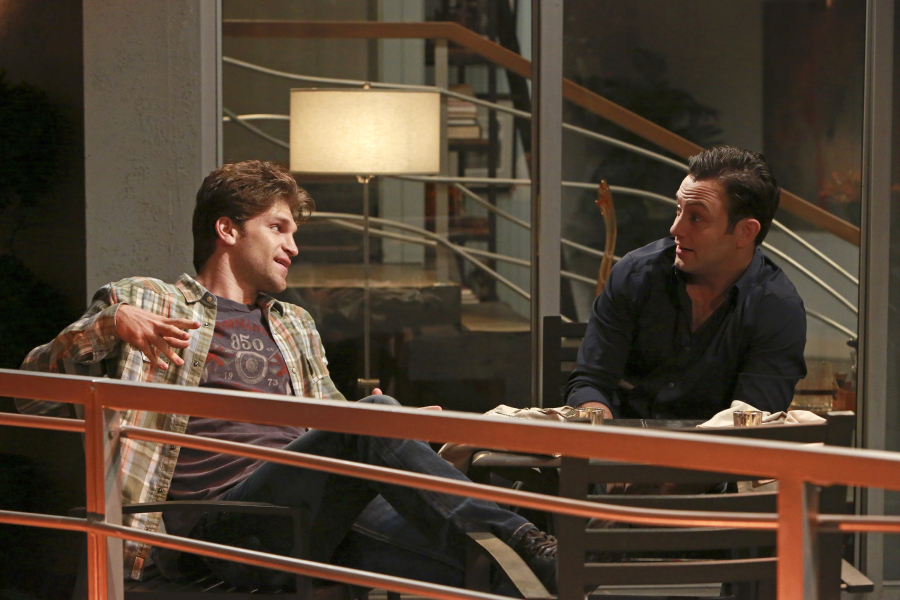 "YOUNG & HUNGRY - ""Young & Back to Normal"" - Gabi meets a new guy but is nervous about what Josh will think on a new episode of ABC Family's original comedy ""Young & Hungry,"" airing on Wednesday, August 26th at 8:30 p.m. ET/PT. (ABC Family/Ron Tom) KEEGAN ALLEN, JONATHAN SADOWSKI"