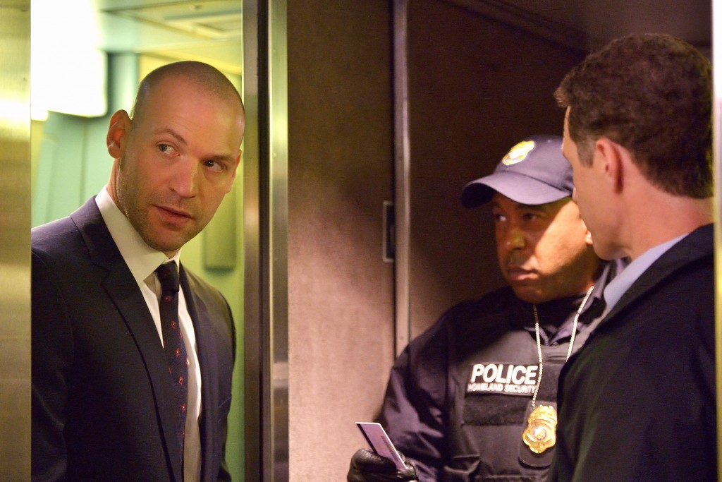 "THE STRAIN -- ""Quick and Painless"" -- Episode 205 (Airs August 9, 10:00 pm e/p) Pictured: Corey Stoll as Ephraim Goodweather. CR: Michael Gibson/FX"