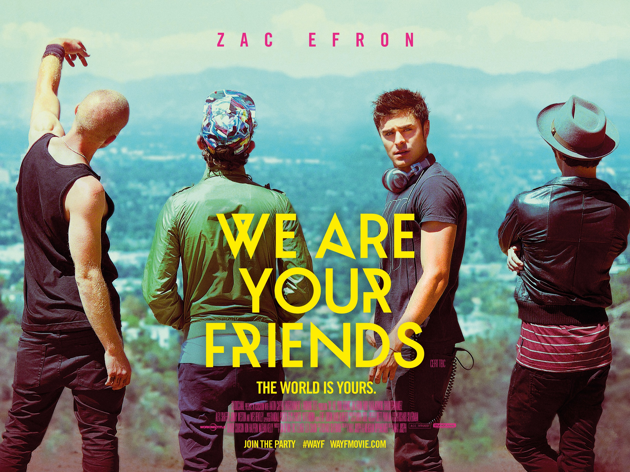movie review 39 we are your friends 39 the young folks. Black Bedroom Furniture Sets. Home Design Ideas