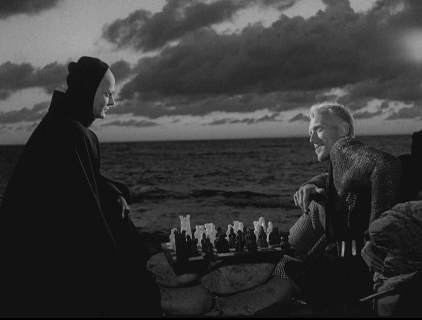 a review of the seventh seal a 1957 movie by ingmar bergman Hooked on film movie reviews of  the seventh seal film classic review – the seventh seal (1957) february  the seventh seal, one of ingmar bergman.