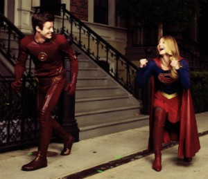 Flash Supergirl Team Up