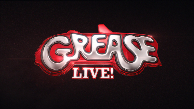 GREASE LIVE!: Logo. CR: FOX © 2015 FOX BROADCASTING