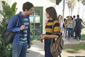 "THE FOSTERS - ""Mixed Messages"" - Callie and Brandon worry their secret has gotten out in an all-new episode of ""The Fosters"" airing MONDAY, FEBRUARY 1 (8:00 – 9:00 p.m. EST) on Freeform, the new name for ABC Family. (Freeform/Eric McCandless) DAVID LAMBERT, MAIA MITCHELL"
