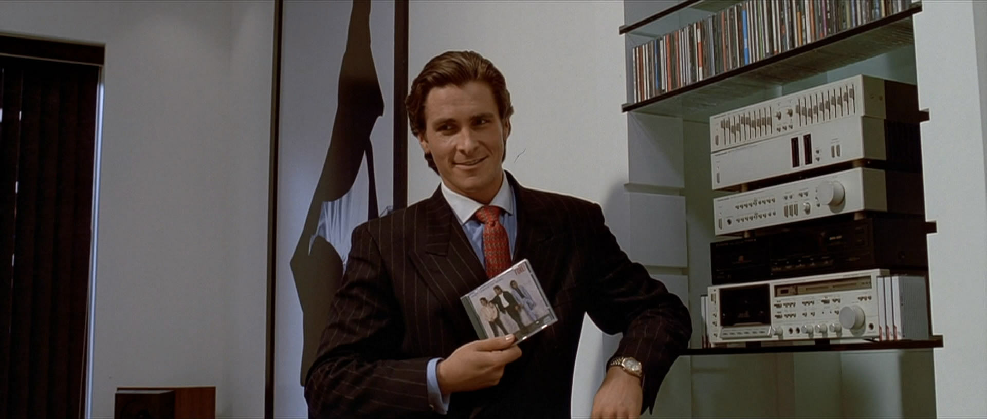 The film canon american psycho 2000 the young folks image 5 huey lewis and weird al remake american psycho reheart Gallery