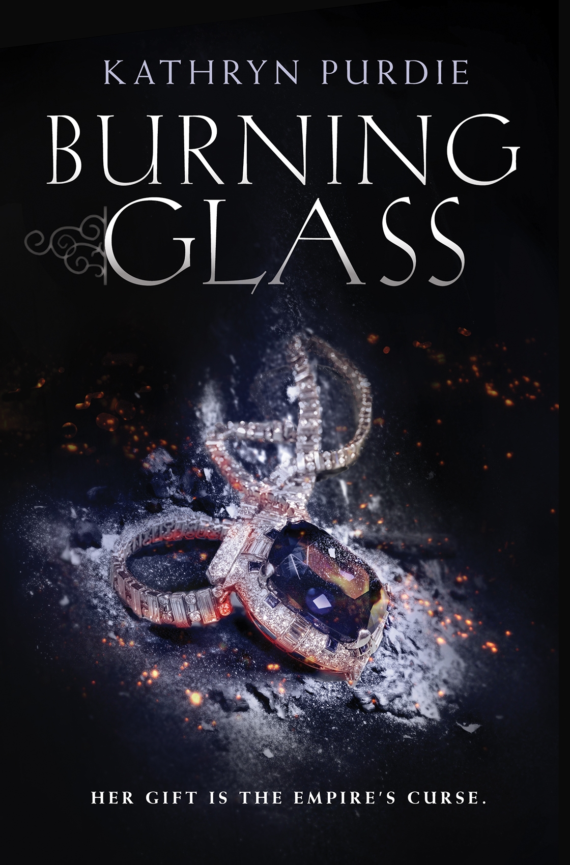 Burning Glass Cover
