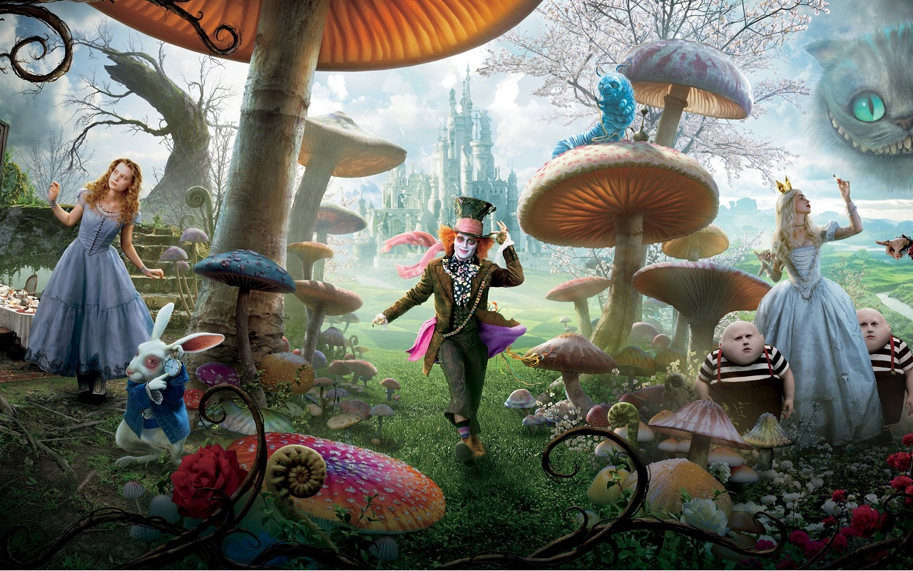 Resultado de imagem para alice through the looking glass