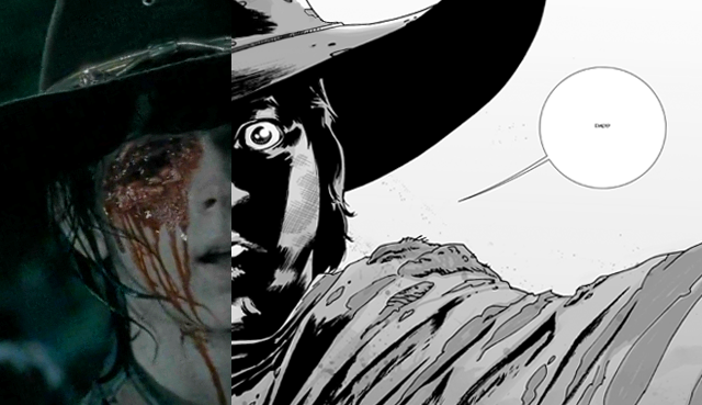 The Walking Dead Comic to Television Comparison