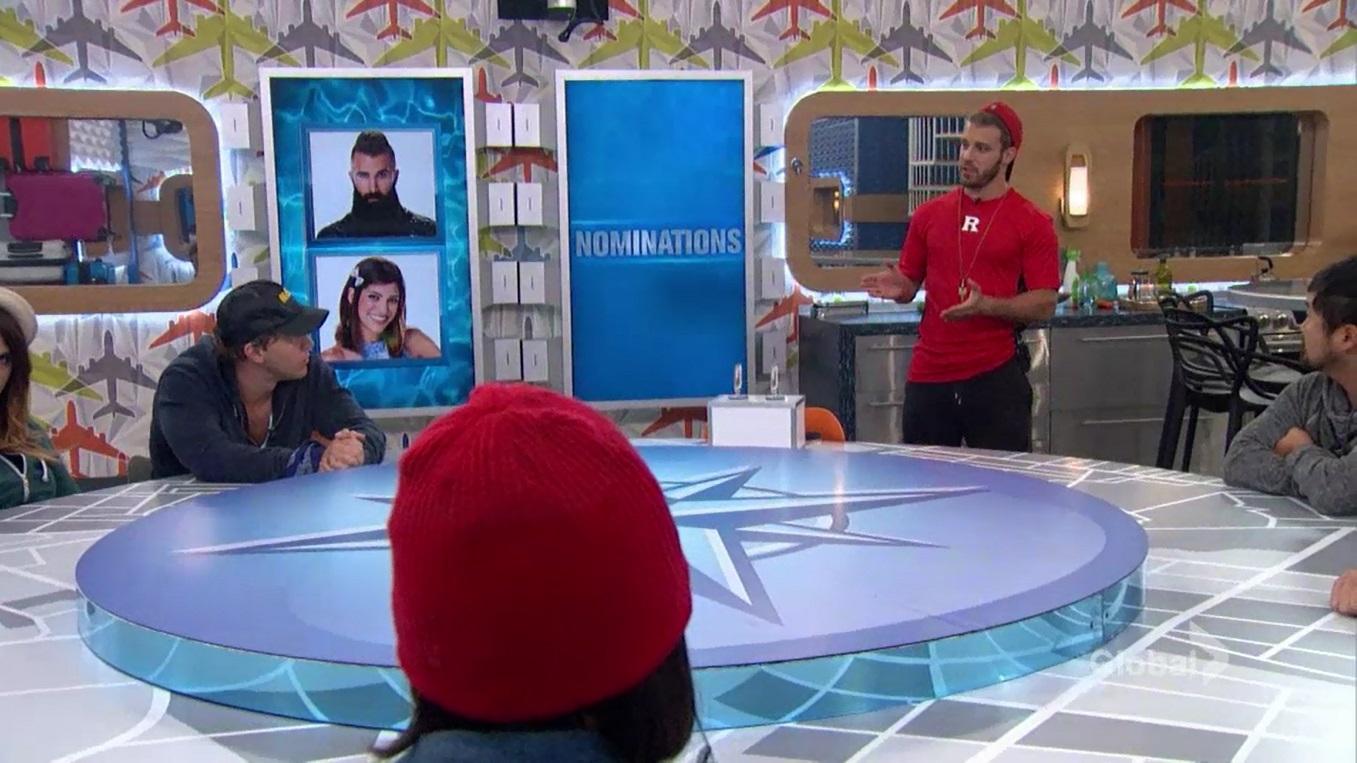Big Brother 18 Paulie Nominates Bronte & Paul