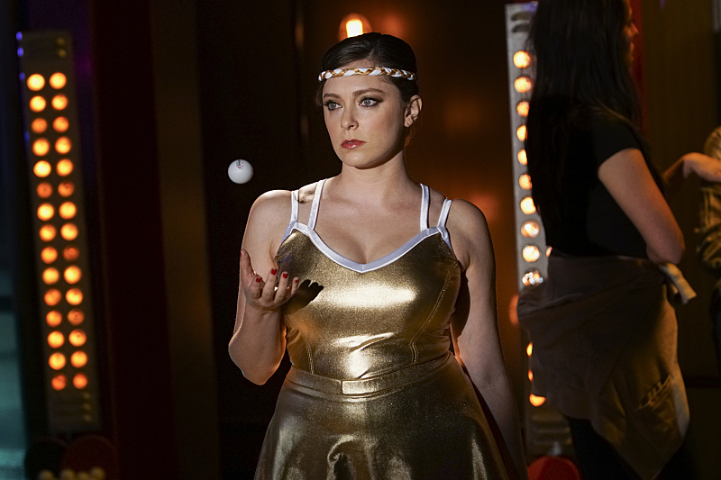 "Crazy Ex-Girlfriend -- ""When Will Josh Notice How Cool I Am?"" -- Image Number: CEG202a_0445.jpg -- Pictured: Rachel Bloom as Rebecca -- Photo: Scott Everett White/The CW -- ©2016 The CW Network, LLC. All Rights Reserved."