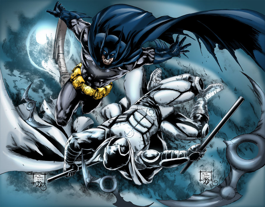 Clash of the Caped Crusaders!