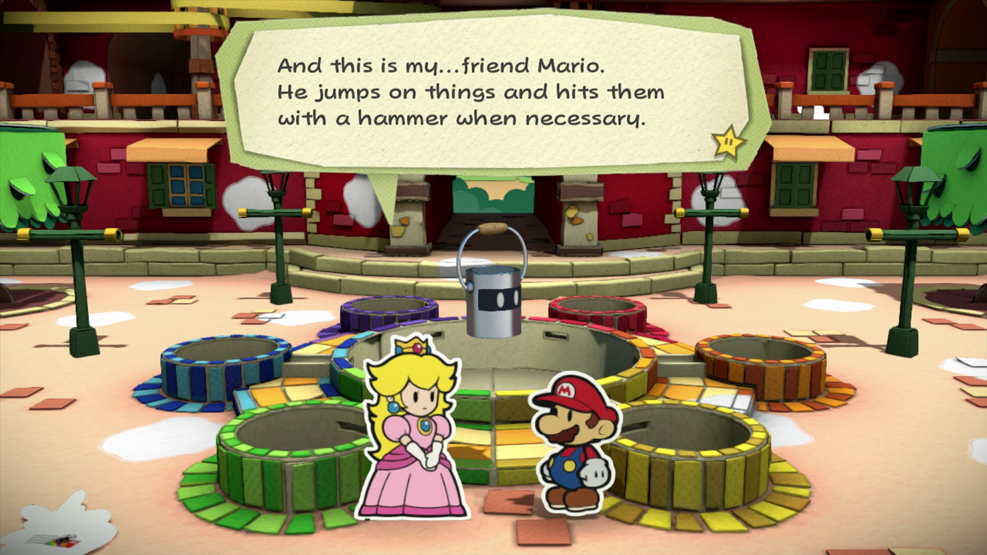Game Review Paper Mario Color Splash The Young Folks