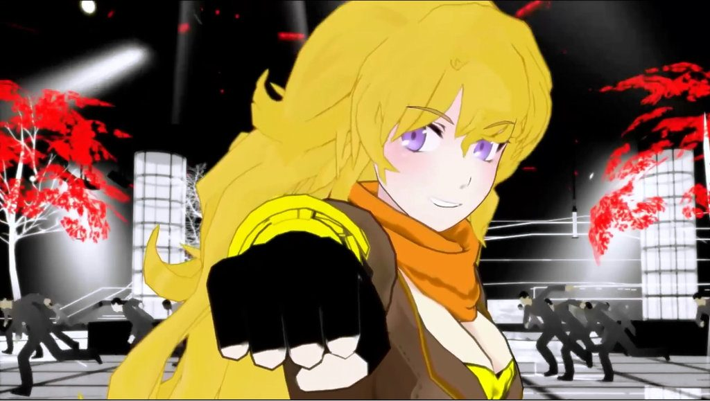 Yang is a blonde bruiser, and a fantastic fighter!