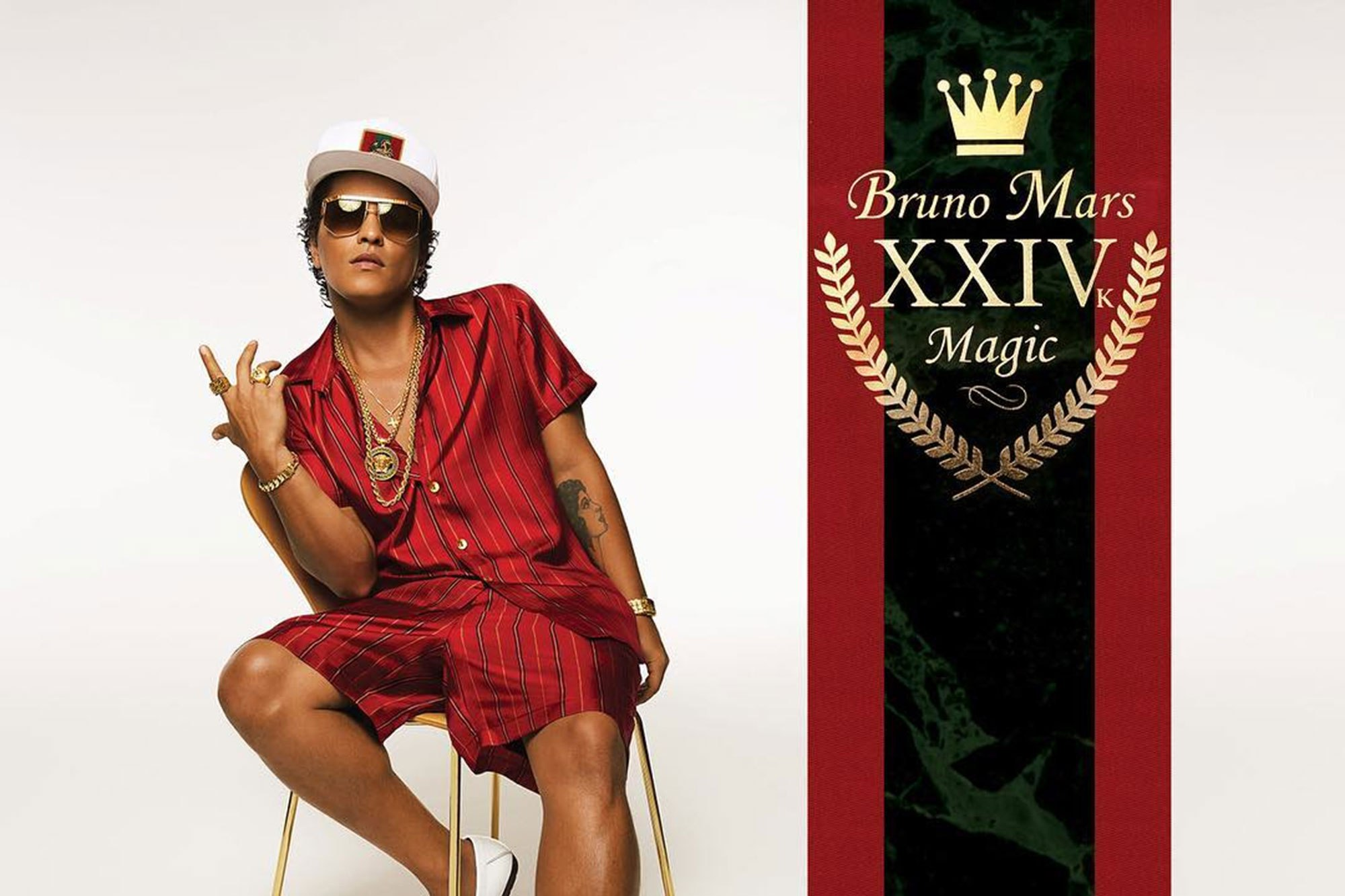 Album Review Bruno Mars 24k Magic The Young Folks