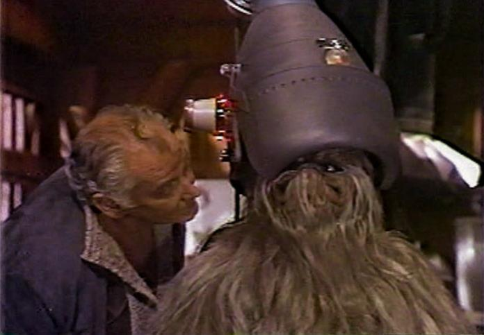 Itchy's Jerk-Off Helmet Star Wars Holiday Special