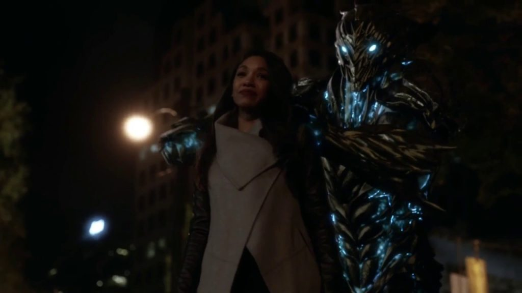 iris west, savitar, the flash