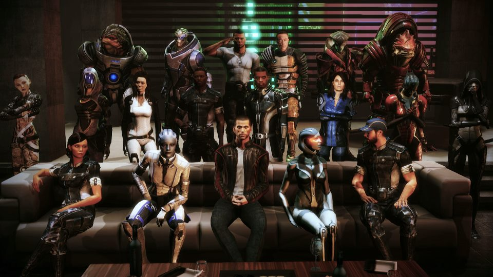 How to get all squad members mass effect 1 — photo 2