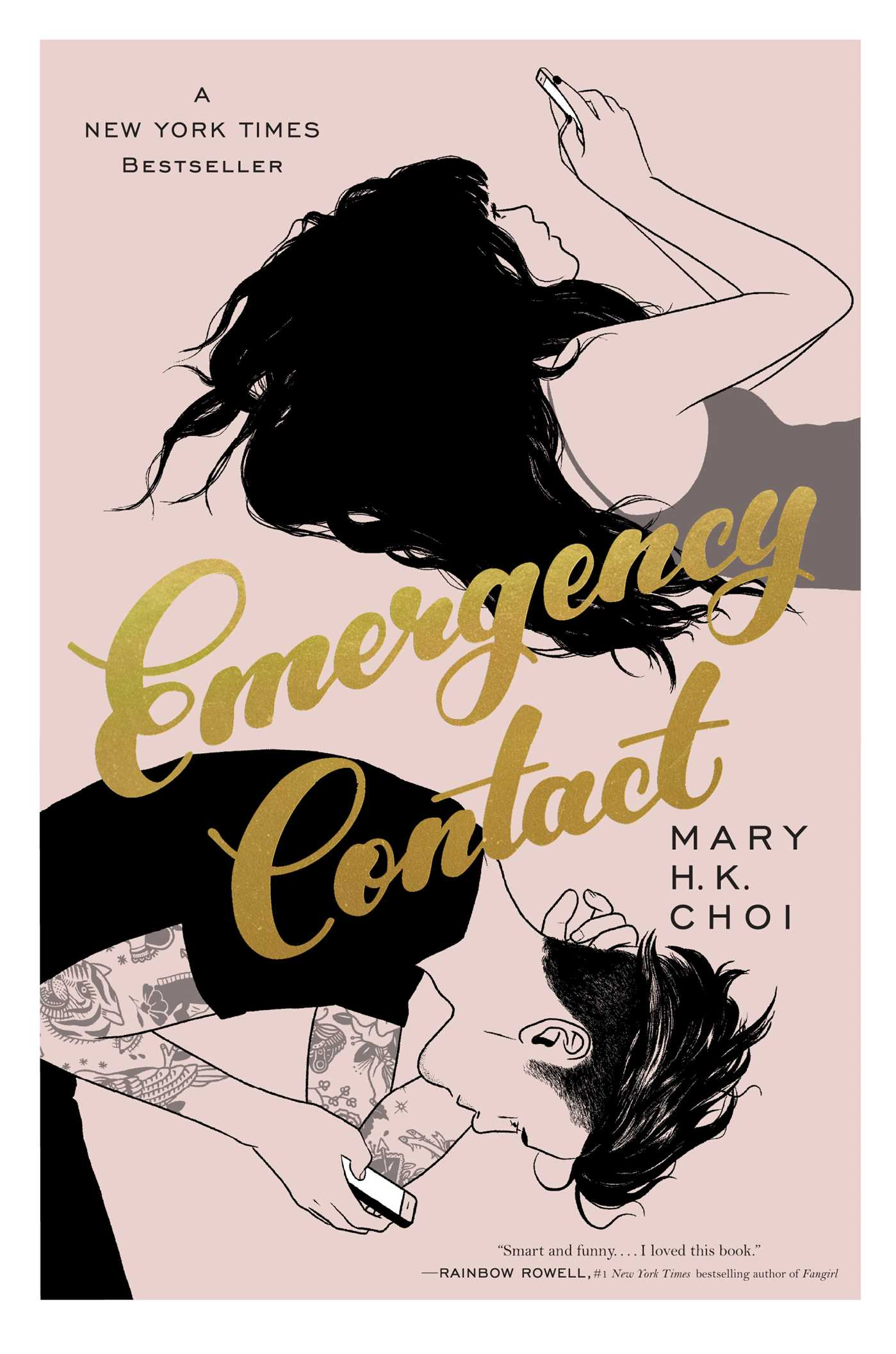 emergency contact mary hk choi ya book cover review