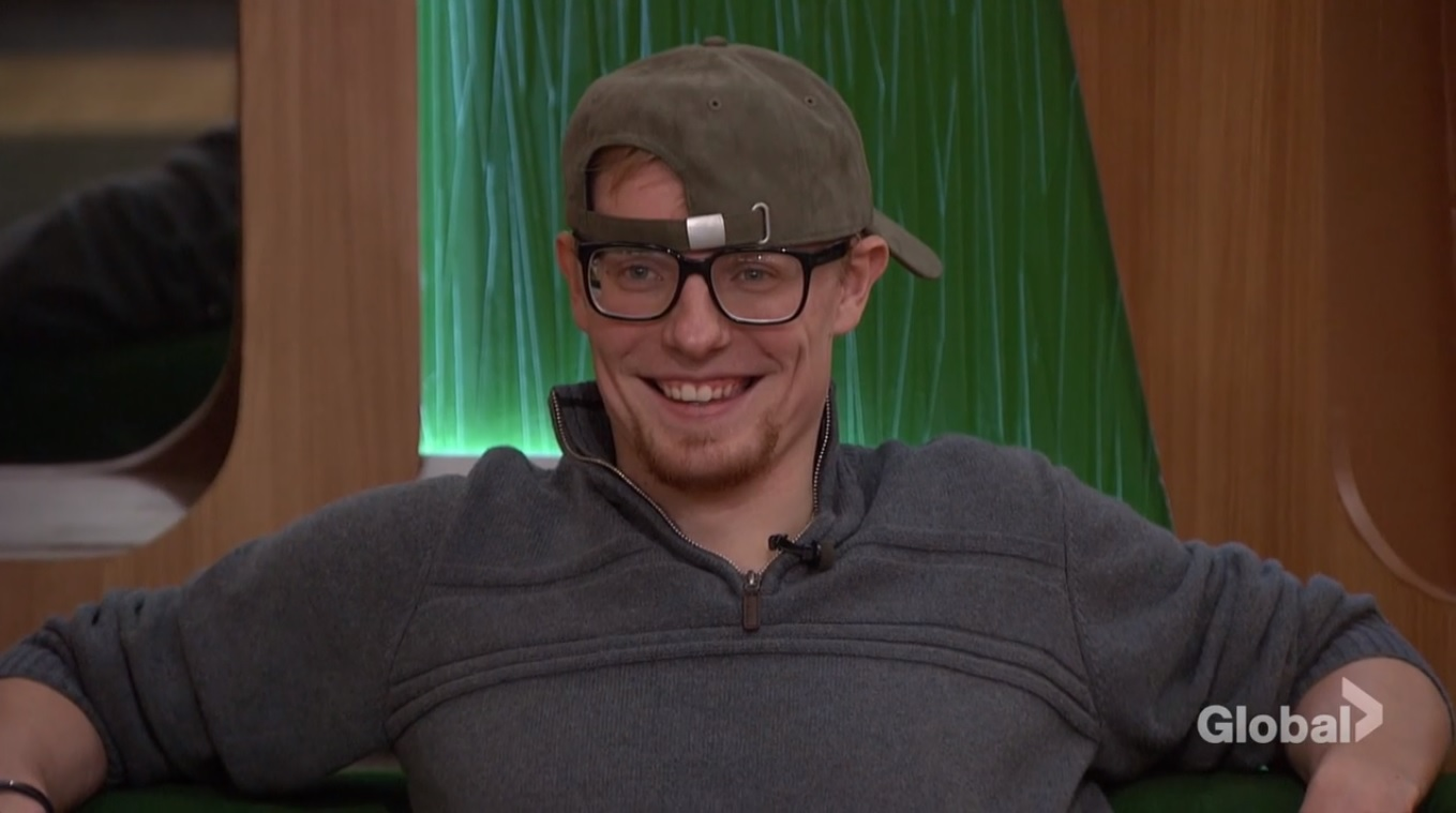 Scottie after the Power of Veto ceremony on Big Brother 20