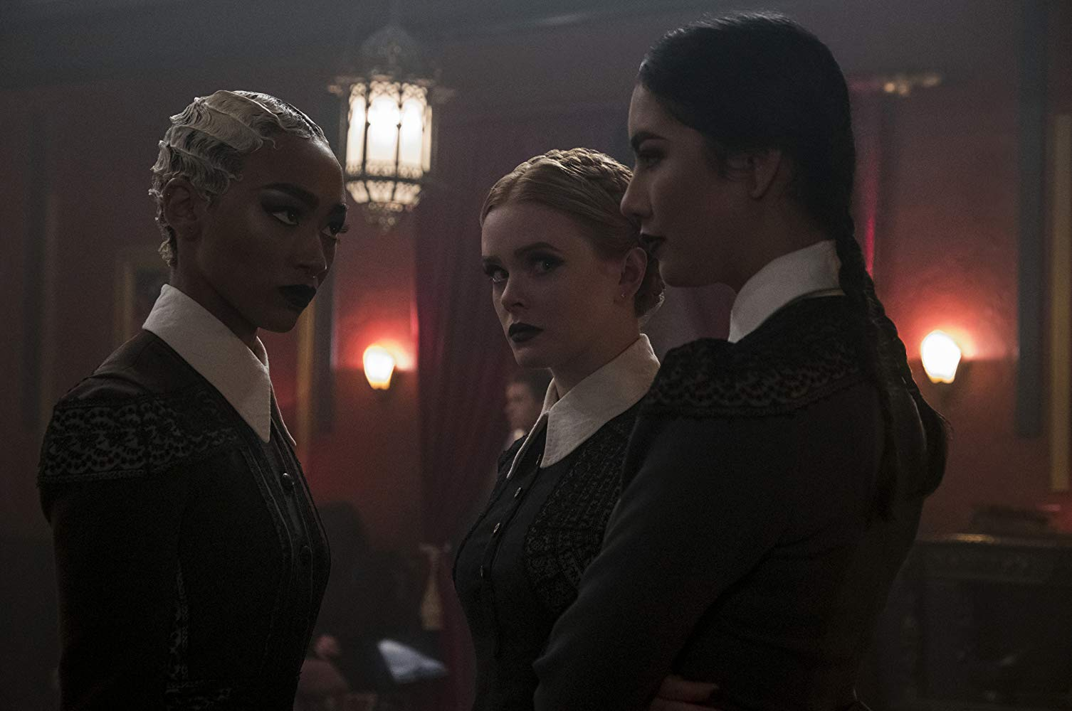 Prudence, Dorcas, and Agatha on The Chilling Adventures of Sabrina