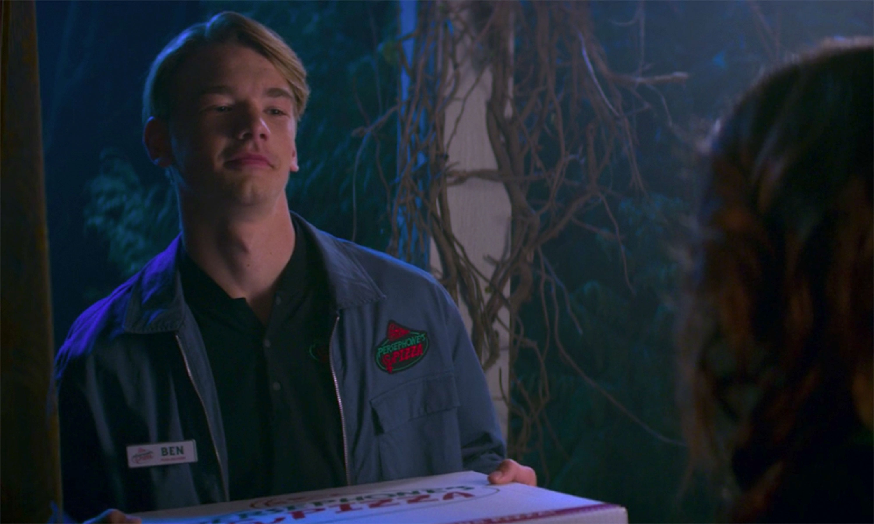 Ben delivering pizza on The Chilling Adventures of Sabrina